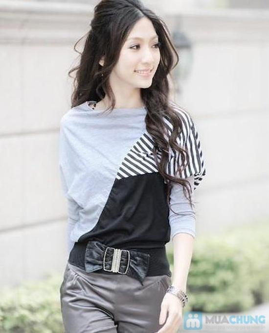 Áo thun sọc Mix Color, Màu sắc trẻ trung, thiết kế ấn tượng - Chỉ 105.000đ/ 01 chiếc - 4