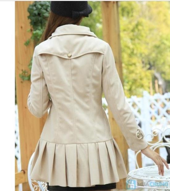 Áo khoác dạ dáng xòe - 3