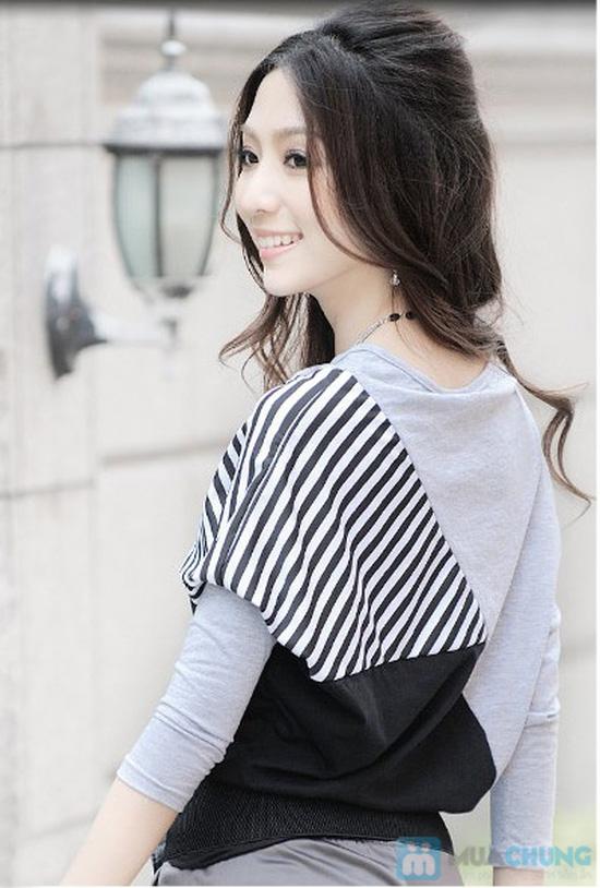 Áo thun sọc Mix Color, Màu sắc trẻ trung, thiết kế ấn tượng - Chỉ 105.000đ/ 01 chiếc - 6
