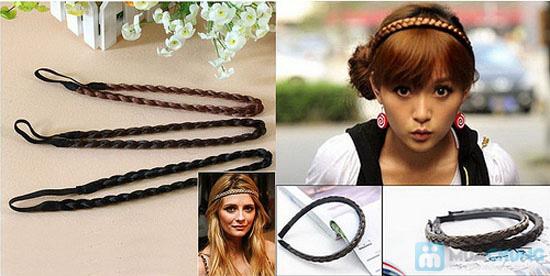Combo 2 băng đô bím tóc cho bạn gái - Chỉ 48.000đ - 4
