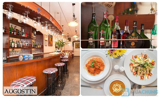 Thưởng thức ẩm thực Pháp tại nhà hàng Augustin - Chỉ 90.000đ được phiếu 180.000đ - 4