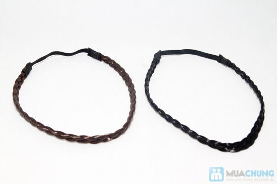 Combo 2 băng đô bím tóc cho bạn gái - Chỉ 48.000đ - 1