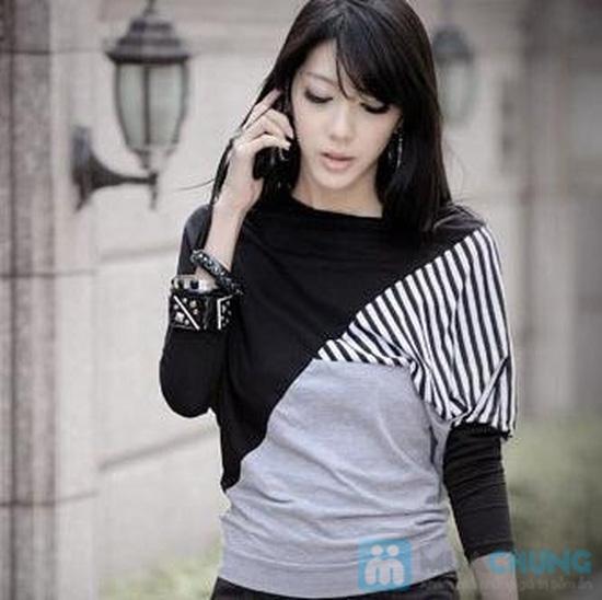 Áo thun sọc Mix Color, Màu sắc trẻ trung, thiết kế ấn tượng - Chỉ 105.000đ/ 01 chiếc - 3