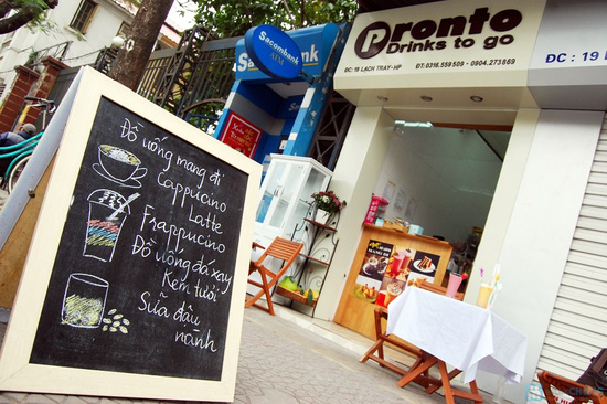 Voucher đồ uống và đồ ăn nhẹ tại Cafe Pronto - chỉ 40.000đ - 6