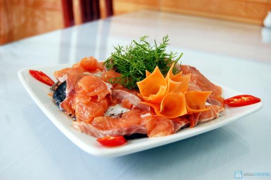 Set ăn Lẩu Cá Hồi đặc biệt cho 4 người tại Nhà hàng chả cá Hà Nội - Chỉ 249.000đ - 10