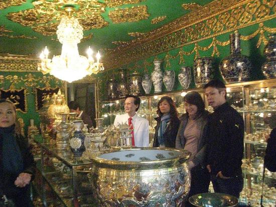 Voucher mua sứ mỹ thuật cao cấp vẽ vàng ròng bằng tay 100% tại Haidoco - chỉ với 100.000đ - 2