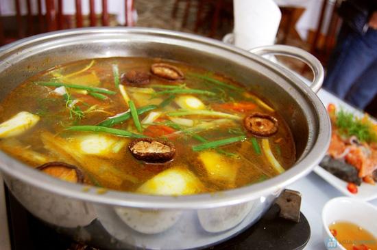 Set ăn Lẩu Cá Hồi đặc biệt cho 4 người tại Nhà hàng chả cá Hà Nội - Chỉ 249.000đ - 4