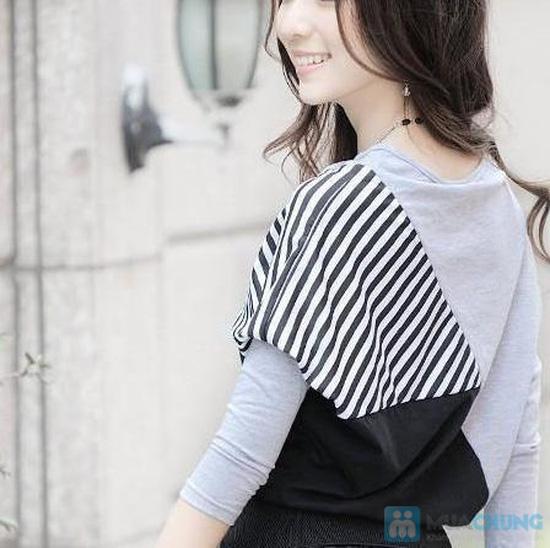 Áo thun sọc Mix Color, Màu sắc trẻ trung, thiết kế ấn tượng - Chỉ 105.000đ/ 01 chiếc - 2