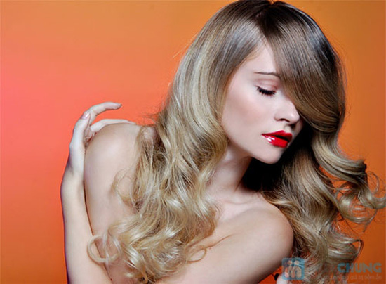 Cắt + Ép/ Nhuộm /Uốn tay, máy / + Hấp dầu tại salon tóc Hường Hà- Chỉ với 300.000 đ - 7