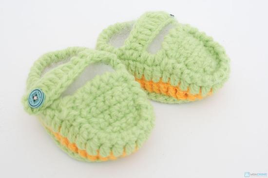 Combo 3 đôi tất len handmade cho bé sơ sinh đến 9 tháng tuổi - 5