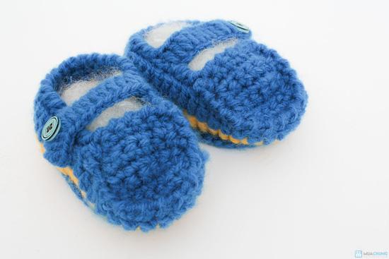 Combo 3 đôi tất len handmade cho bé sơ sinh đến 9 tháng tuổi - 1