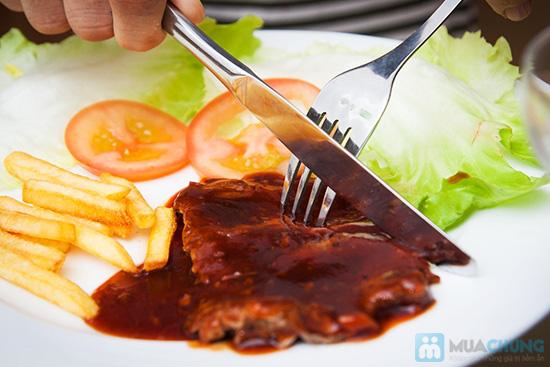 Combo 02 phần beefsteak khoai tây + 2 ly kem mỹ tại Cafe Firebug- Chỉ 80.000đ - 6