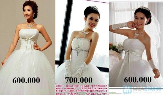 Phiếu mua đầm xòe công chúa và đầm cưới ngắn chụp ngoại cảnh tại Shop LILYKISS - Chỉ 85.000đ được phiếu 200.000đ - 3