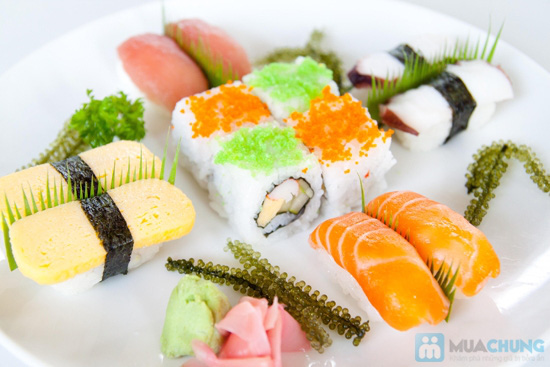 4 set sushi hoặc 4 set lẩu cho 1 người tại NH Shabu Sushi - 4