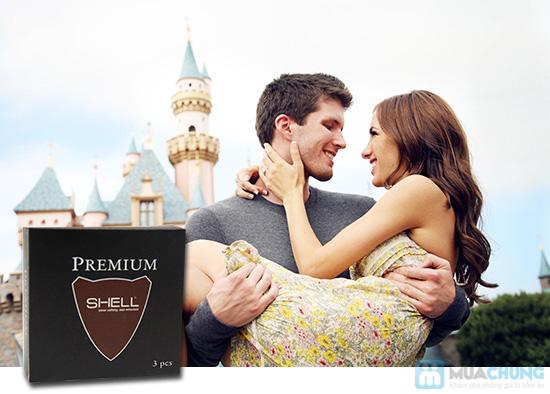 Combo 3 hộp Bao cao su cao cấp Shell Premium - Chỉ 75.000đ/Combo - 3
