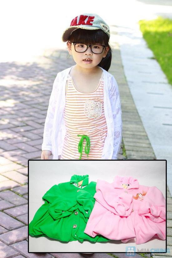 Áo khoác đính nơ xinh xắn cho bé gái - Chỉ 85.000đ/ 01 chiếc - 6
