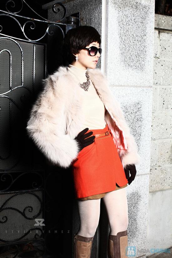 Áo khoác lông sang trọng phong cách Hàn Quốc - Chỉ với 320.000đ - 9