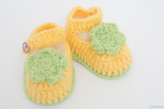 Combo 3 đôi tất len handmade cho bé sơ sinh đến 9 tháng tuổi - 2