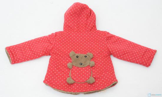 Áo khoác lông hình gấu dễ thương cho bé - 5