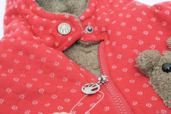 Áo khoác lông hình gấu dễ thương cho bé - 4