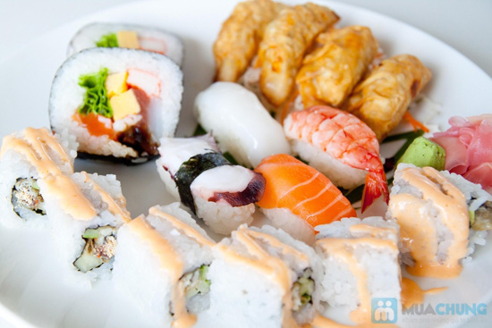 4 set sushi hoặc 4 set lẩu cho 1 người tại NH Shabu Sushi - 1