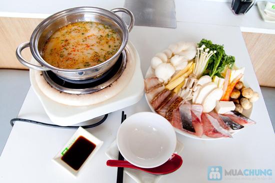 4 set sushi hoặc 4 set lẩu cho 1 người tại NH Shabu Sushi - 5