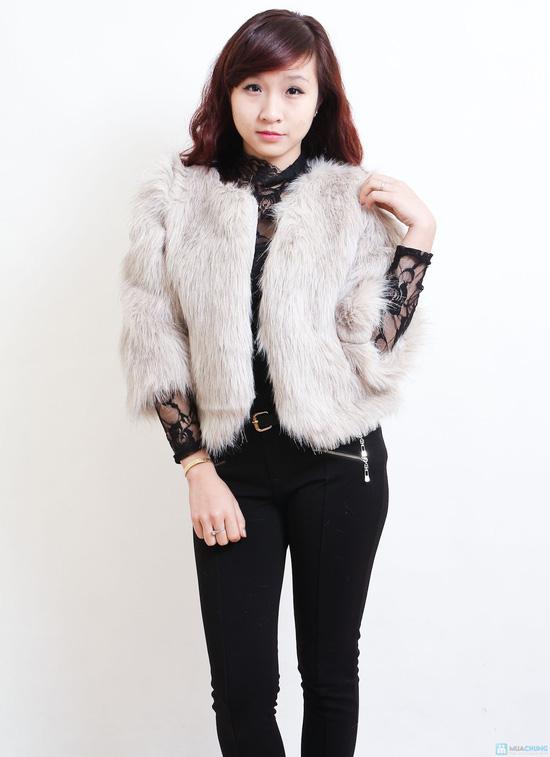Áo khoác lông sang trọng phong cách Hàn Quốc - Chỉ với 320.000đ - 6