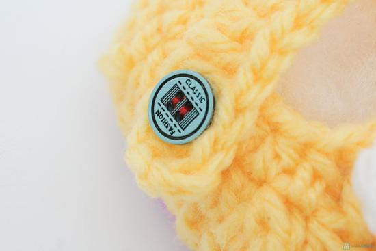 Combo 3 đôi tất len handmade cho bé sơ sinh đến 9 tháng tuổi - 7
