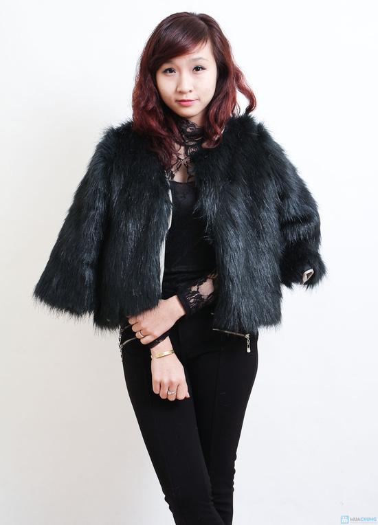 Áo khoác lông sang trọng phong cách Hàn Quốc - Chỉ với 320.000đ - 7
