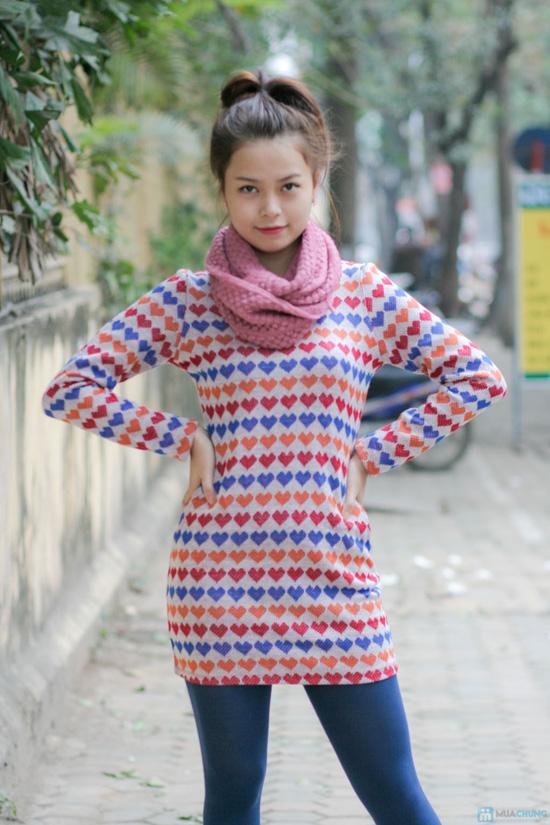 Váy len họa tiết - 5