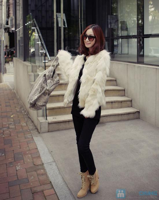 Áo khoác lông sang trọng phong cách Hàn Quốc - Chỉ với 320.000đ - 10