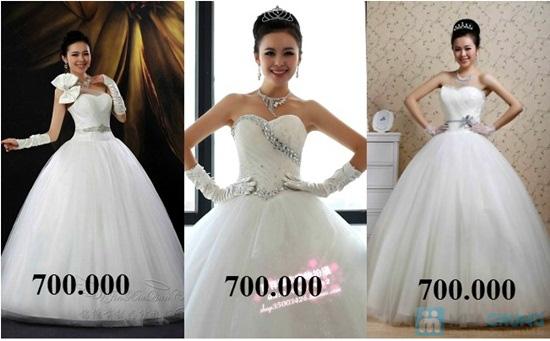 Phiếu mua đầm xòe công chúa và đầm cưới ngắn chụp ngoại cảnh tại Shop LILYKISS - Chỉ 85.000đ được phiếu 200.000đ - 2