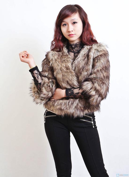 Áo khoác lông sang trọng phong cách Hàn Quốc - Chỉ với 320.000đ - 5