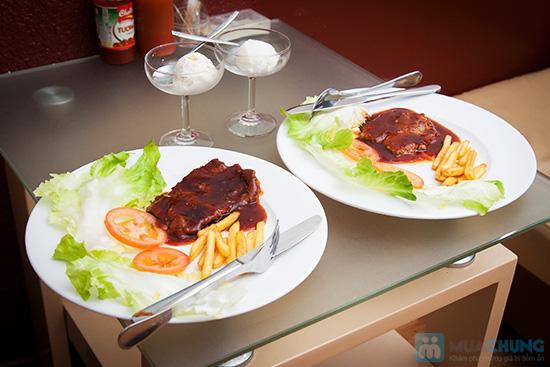 Combo 02 phần beefsteak khoai tây + 2 ly kem mỹ tại Cafe Firebug- Chỉ 80.000đ - 5