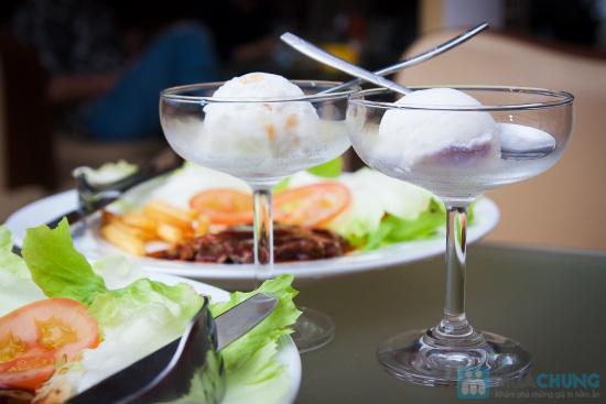 Combo 02 phần beefsteak khoai tây + 2 ly kem mỹ tại Cafe Firebug- Chỉ 80.000đ - 8