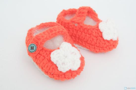 Combo 3 đôi tất len handmade cho bé sơ sinh đến 9 tháng tuổi - 8