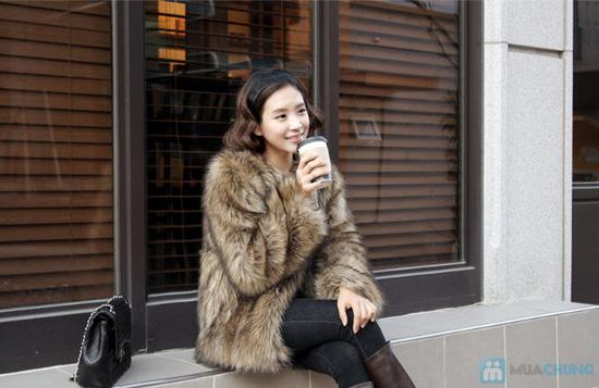 Áo khoác lông sang trọng phong cách Hàn Quốc - Chỉ với 320.000đ - 3