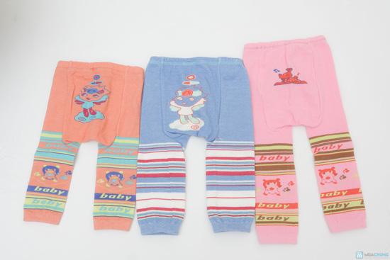 Combo 3 quần len trơn mông thú cho bé - 3