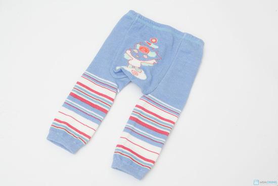 Combo 3 quần len trơn mông thú cho bé - 4