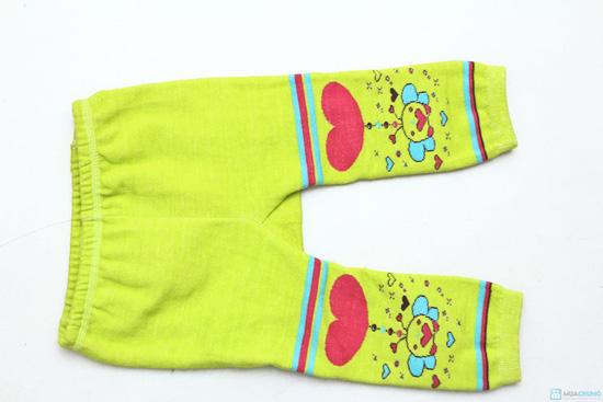 Combo 3 quần len trơn mông thú cho bé - 8