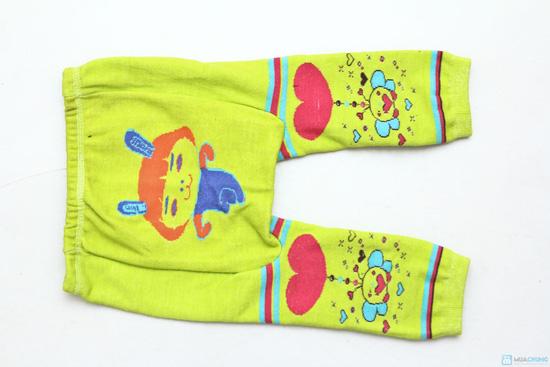 Combo 3 quần len trơn mông thú cho bé - 7