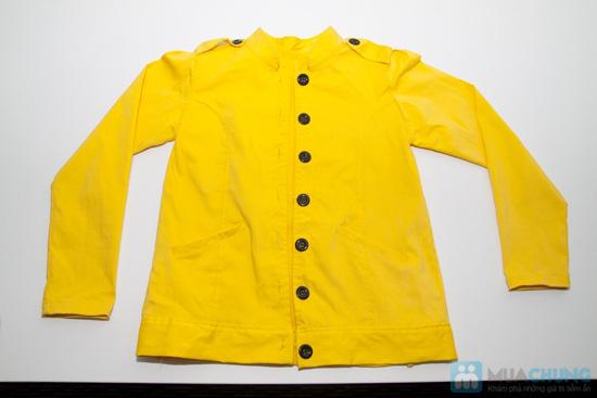 Áo khoác giả vest kaki vàng cá tính- Chỉ 150.000đ - 1
