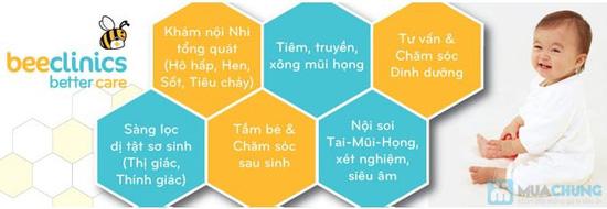 Gói chăm sóc sức khỏe Tai - Mũi - Họng cho bé tại Phòng khám nhi BEECLINICS - Chỉ với 199.000đ - 7