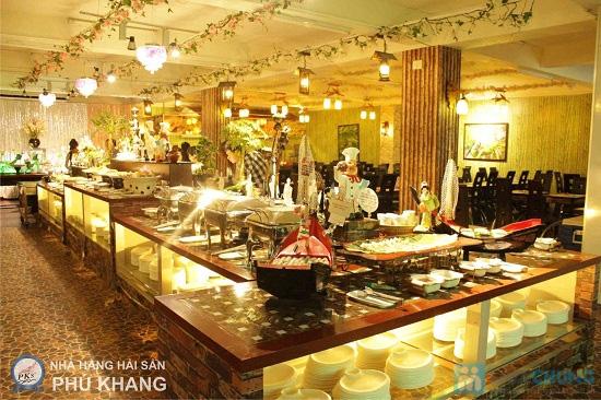 Buffet trưa  tại NH hải sản Phú Khang - Chỉ 99.000đ/ 01 người - 11