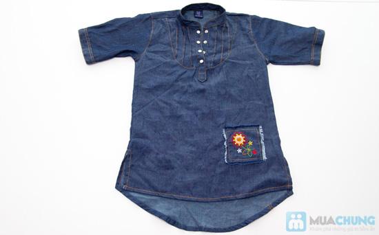 Đầm giả jeans cho bé gái - Chỉ 79.000đ - 1