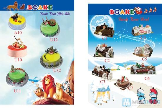 Thưởng thức hương vị độc đáo, mới lạ của bánh kem tại cửa hàng BCAKE - Chỉ 144.000đ được phiếu 240.000đ - 3