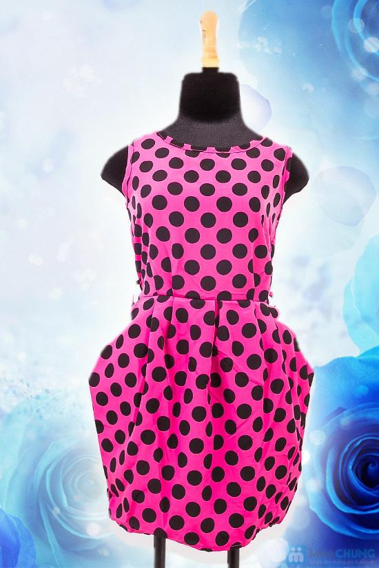 Đầm chấm bi 02 túi - Nữ tính cổ điển, thanh lịch hiện đại - Chỉ 80.000đ/chiếc - 2