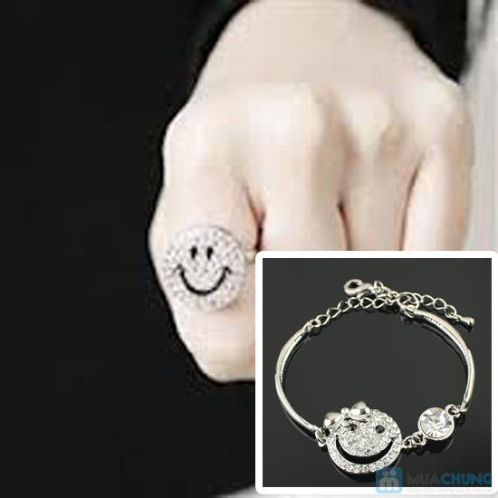 Vòng đeo tay và nhẫn mặt cười - Làm nổi bật cổ tay trắng ngà bạn gái - Chỉ 73.000đ/ 01 combo - 8