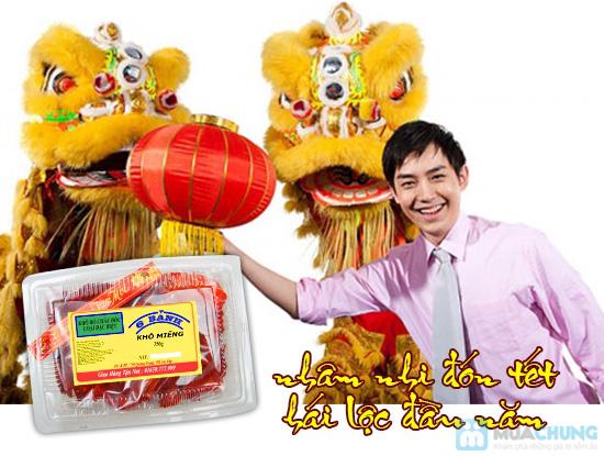 Khô bò miếng Châu Đốc - thương hiệu Sáu Bảnh - Chỉ 130.000đ/01 hộp - 1