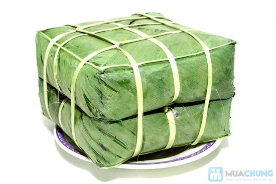 Cặp bánh chưng gạo nếp cái hoa vàng - Chỉ 155.000đ/01 cặp (2.6 kg) - 1